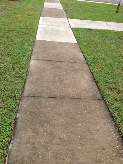 Concrete Cleaning Davenport