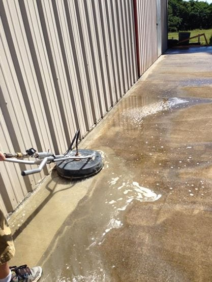 Concrete Commercial Cleaning