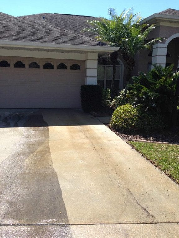 Driveway cleaning tampa fl buddys pressure washing for Driveway cleaning chemicals